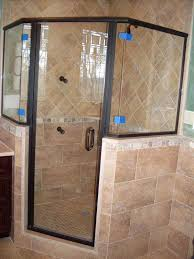 shower door types single glass
