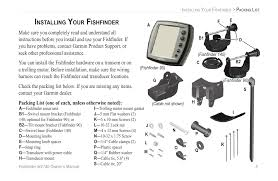 installing your fishfinder installing your fishfinder garmin 90 installing your fishfinder installing your fishfinder garmin 90 140 user manual page 11 32