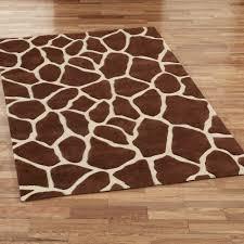 home interior nice cheetah area rug com brown checd animal print rectangle from cheetah