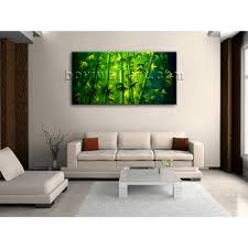 Paintings For Living Room Feng Shui Large Original Abstract Feng Shui Painting Giclee Print Bamboo Zen