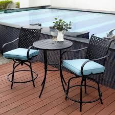 patio furniture set outdoor bar height