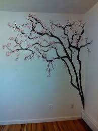 tree wall art cherry blossom wall art