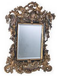 baroque wall mirror furniture and