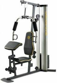 Gold Gym Workout Chart Golds Gym Xr 55 Home 125 Lb Vinyl Weight Stack Bench Press Butterfly Exercise