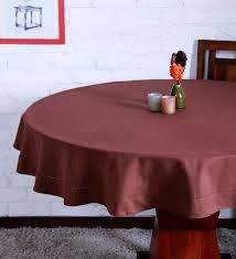 cotton plain french roast table cloth