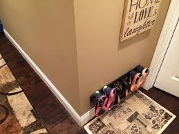 coat racks can used hang shoes small entryways