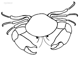 Small Picture Printable Crab Coloring Pages For Kids Cool2bKids
