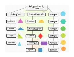 Family Tree Flow Chart 2d Shape Poster Polygon Family Tree Flow Chart Freebie By Ms Bbz