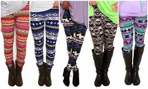 What To Wear With Patterned Leggings Simple Decorating