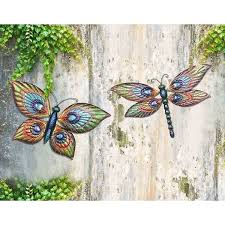 dragonfly wall art set of 2
