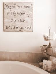 bathroom wall decor pictures.  Wall Vintage Bathroom Wall Design Round Rack Towel Rolls Soap Bottle Shampoo  Square Text Accessories White Bathtub To Decor Pictures C
