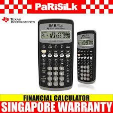 Financial Calculator Texas Instrumenttexas Instrument Ba Ii Plus Financial Calculator