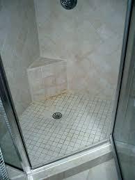 concrete shower floor re grout tile property pan drain concrete shower floor