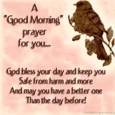 Good Morning Prayers Quotes