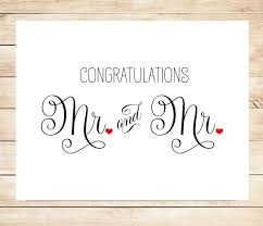 printable mr and mr wedding card gay marriage wedding card Wedding Greeting Cards Printable printable mr and mr wedding card gay marriage wedding card free printable wedding greeting cards