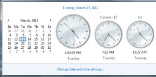 Est To Ist Time Chart How To Show Multiple Clocks On Windows 10 Taskbar