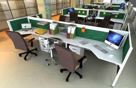 office desk photo. Slimmo 4 Staff Workstation Office Desk Photo