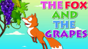 Image result for fox and grapes