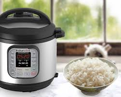Pressure Cooker Rice Chart How To Cook Perfect Rice In An Electric Pressure Cooker
