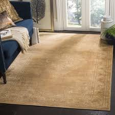 Safavieh Vintage Oriental Taupe Distressed Silky Viscose Rug (6'7 x 9'2) -  Free Shipping Today - Overstock.com - 15431421