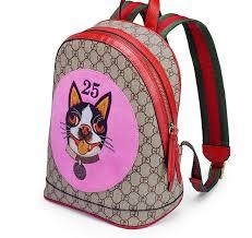 idolra animal s design top cow leather backpack handbag