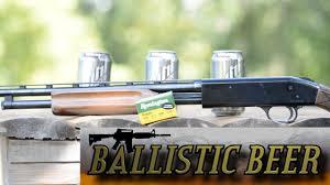 Beer Ballistics 11 410 Slug