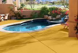 pool deck paint colorsCreate a safe place for fun in the sun