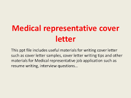 medicalrepresentativecoverletter 140228021704 phpapp02 thumbnail 4jpgcb1393553858 sample medical representative cover letter