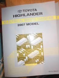 2007 toyota highlander electrical wiring diagram service manual image is loading 2007 toyota highlander electrical wiring diagram service manual