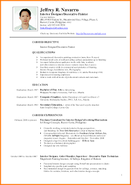 Chic Resume Sample For College Student Philippines Also Resume