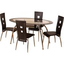 amazing small glass dining table and 4 chairs dining room small oak dining table and 4