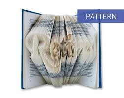 Book Folding Patterns Adorable Bookfolding Patterns Retired In Handwriting DIY Pattern