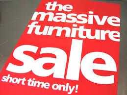 furniture sale sign. Furniture Sale 7 Sign