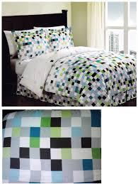 pixel minecraft bedding pixel twin bed ensemble