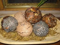 Decorative Feather Balls decor balls diy Recherche Google Déco Pinterest 2