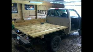 Nissan Hardbody / Toyota Pickup Truck How To Wooden Flatbed ...