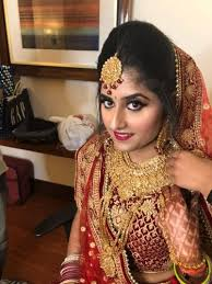 latest bridal makeup by three at best and affordable s makeup artist in delhi ncr