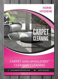 carpet cleaning flyer modern bold flyer design for home hygiene by uk design 6547687
