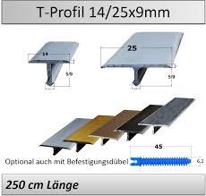 Das eloxieren (auch anodisieren von. 14 25mm Ubergangsprofil T Profil Aluminium Edelstahl Matt