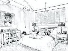 Interior Design Bedroom Sketches Room Sketches Interior Design