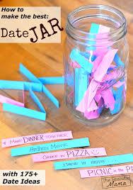 date jar with 175 date ideas