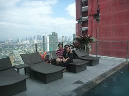 city garden grand hotel makati. City Garden Grand Hotel: Nice View From Rooftop Hotel Makati