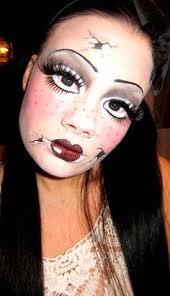 broken doll makeup ideas