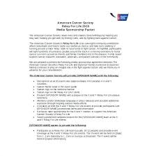 Sponsorship Contract Template Custom Sponsorship Agreement Form Samples Free Sample Example For On
