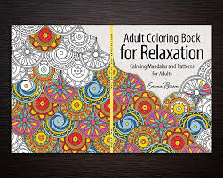 coloring book series cover design