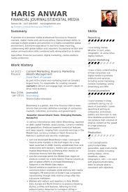 Contentmarketingbrandmarketingwealthmanagementresume Example Make A