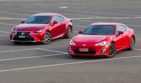 Which to choose - Toyota 86 vs Lexus RC350 | Practical Motoring
