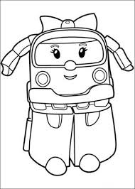 Kids N Fun 21 Kleurplaten Van Robocar Poli