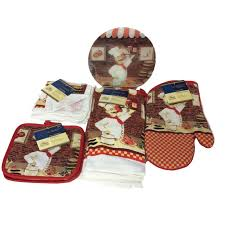 fat chef kitchen towels set pot holders oven and 16 similar items 57