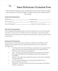 Employee Appraisal Templates Student Performance Evaluation Template ...
